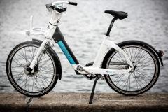 Billeder af C40 bytur rundt i København, hvor to nye bycykler introduceres. Fotograferet onsdag d. 9. oktober i København, Danmark.