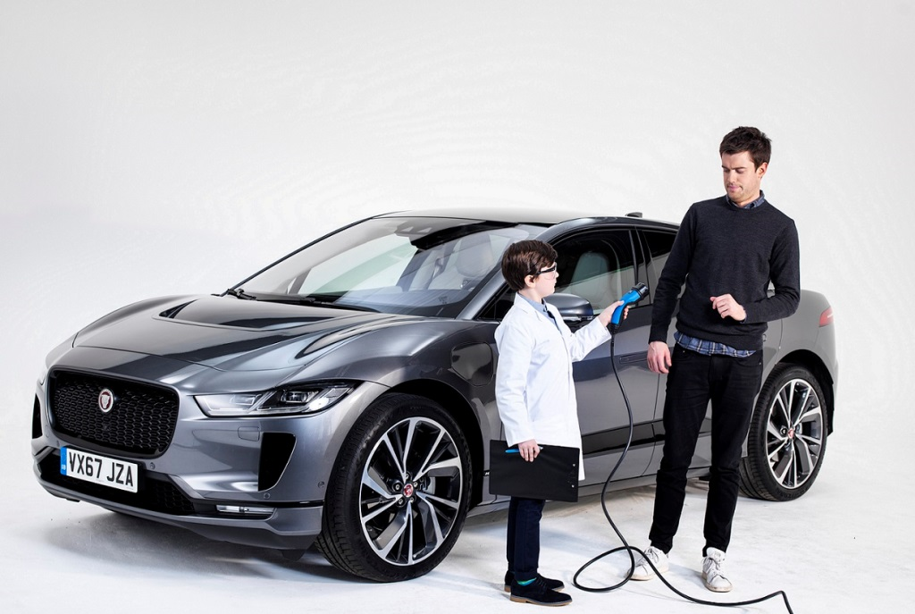 jack Whitehall and the Jaguar Ipace