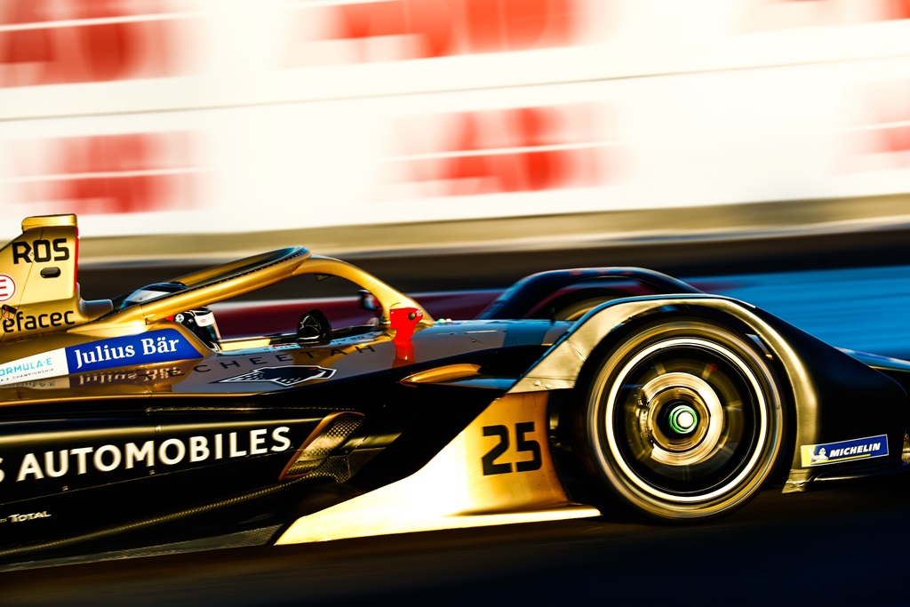 CIRCUIT INTERNATIONAL AUTOMOBILE MOULAY EL HASSAN, MOROCCO - JANUARY 13: James Rossiter (GBR), DS TECHEETAH, DS E-Tense FE19 during the Marrakesh testing at Circuit International Automobile Moulay El Hassan on January 13, 2019 in Circuit International Automobile Moulay El Hassan, Morocco. (Photo by Sam Bloxham / LAT Images)
