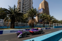 2017/2018 FIA Formula E Championship Round 4 - Santiago ePrix Santiago, Chile Saturday 03 February 2018 Alex Lynn (GBR), DS Virgin Racing, DS Virgin DSV-03.  Photo: Zak Mauger/LAT/Formula E ref: Digital Image _56I1401