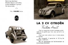 Depliant 2CV del settembre 1949 (esterno)