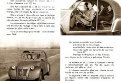 Depliant 2CV del settembre 1949 (interno)