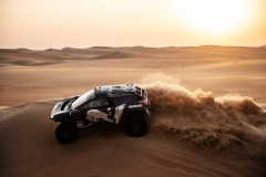 Sebastien Loeb performs during a test run with the new Peugeot 3008 DKR on December 11th, 2018 // Naim Chidiac/Red Bull Content Pool // AP-1XZP12UK52111 // Usage for editorial use only // Please go to www.redbullcontentpool.com for further information. //