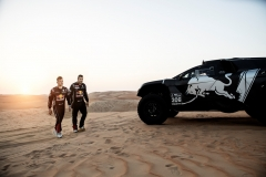 Sebastien Loeb and Daniel Elena were seen during a test run with the new Peugeot 3008 DKR on December 11th, 2018