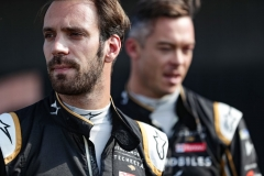 Jean-Eric Vergne (FRA), DS TECHEETAH and Andre Lotterer (BEL), DS TECHEETAH