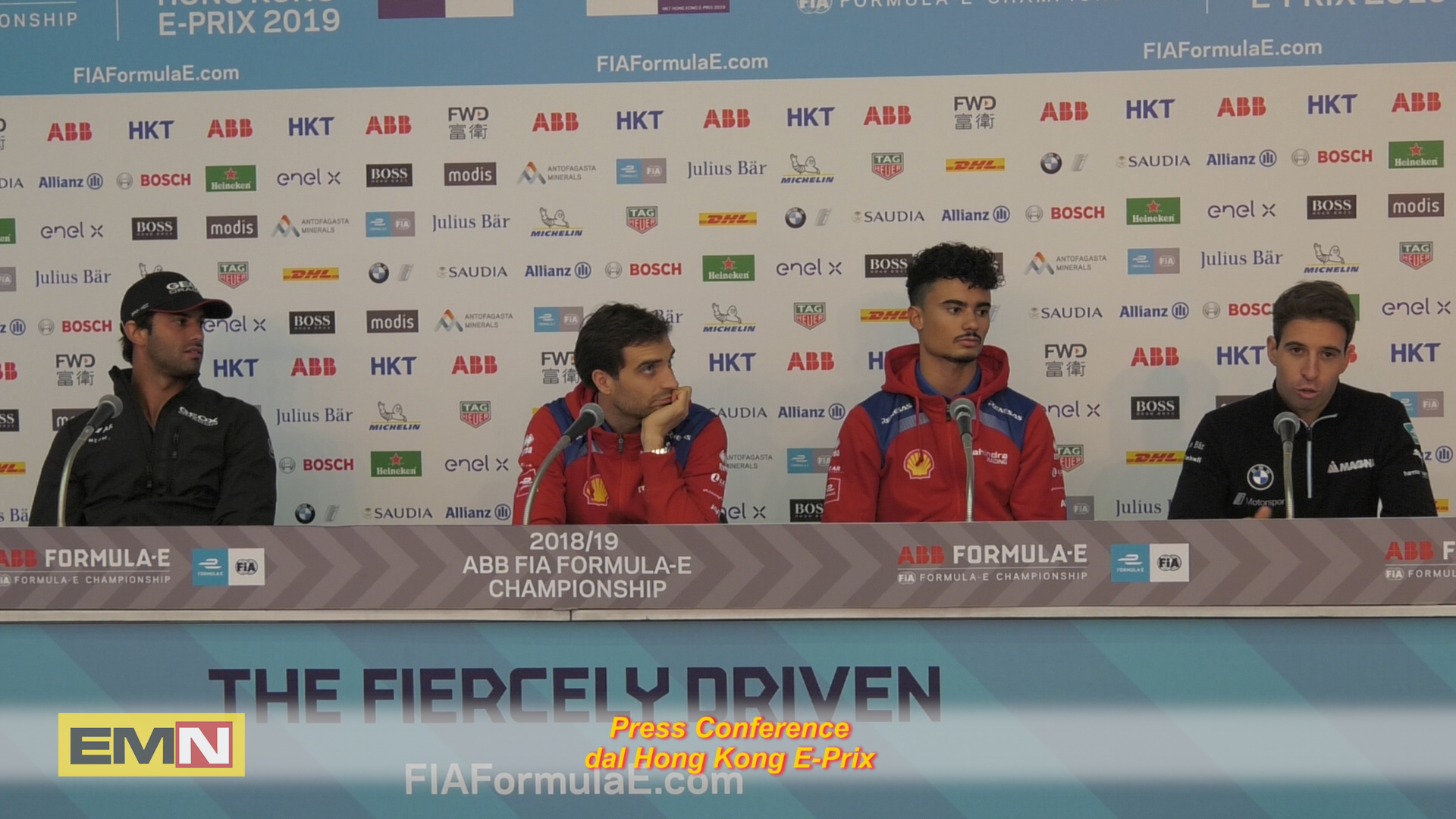 9 Press Conference Drivers