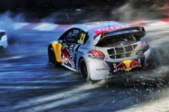 Timmy Hansen in action at FIA World Rallycross Championship in Entering, Germany on 14th October 2018 // @World / Red Bull Content Pool // AP-1X6YWE3GH2111 // Usage for editorial use only // Please go to www.redbullcontentpool.com for further information. //