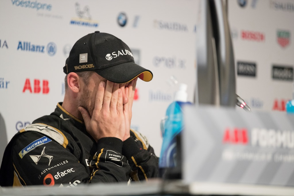 Andre Lotterer (DEU), DS TECHEETAH, in the press conference