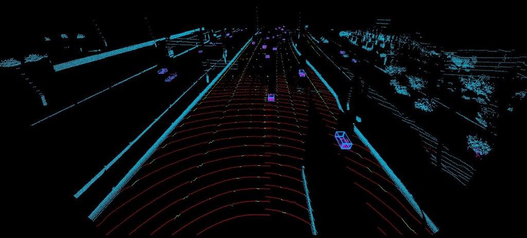 Luminar LiDAR highway perception
