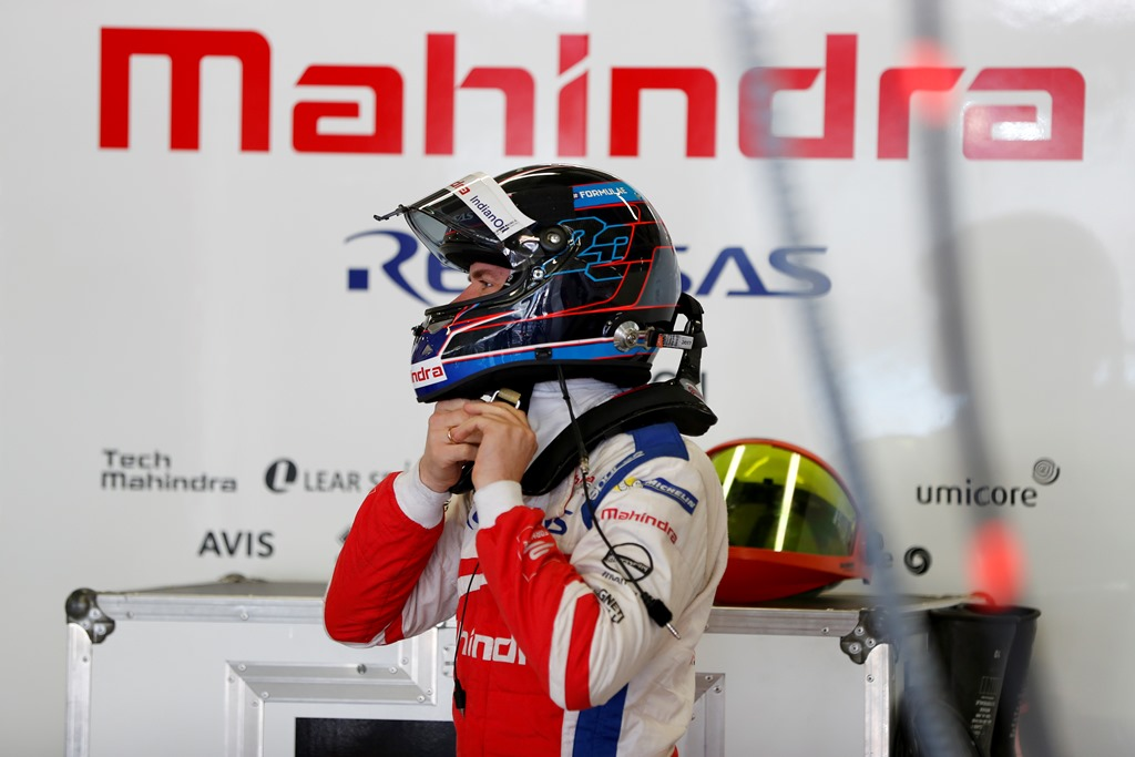 2017/2018 FIA Formula E Championship. Round 5 - Mexico City ePrix. Autodromo Hermanos Rodriguez, Mexico City, Mexico. Saturday 03 March 2018. Nick Heidfeld (GER), Mahindra Racing, Mahindra M4Electro.  Photo: Zak Mauger/LAT/Formula E ref: Digital Image _54I7513