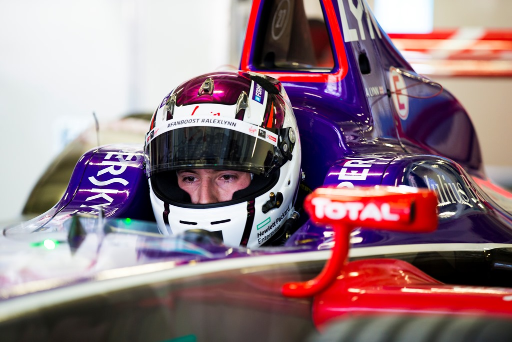 2017/2018 FIA Formula E Championship. Round 5 - Mexico City ePrix. Autodromo Hermanos Rodriguez, Mexico City, Mexico. Saturday 3 March 2018. Alex Lynn (GBR), DS Virgin Racing, DS Virgin DSV-03.  Photo: Sam Bloxham/LAT/Formula E ref: Digital Image _X0W0503