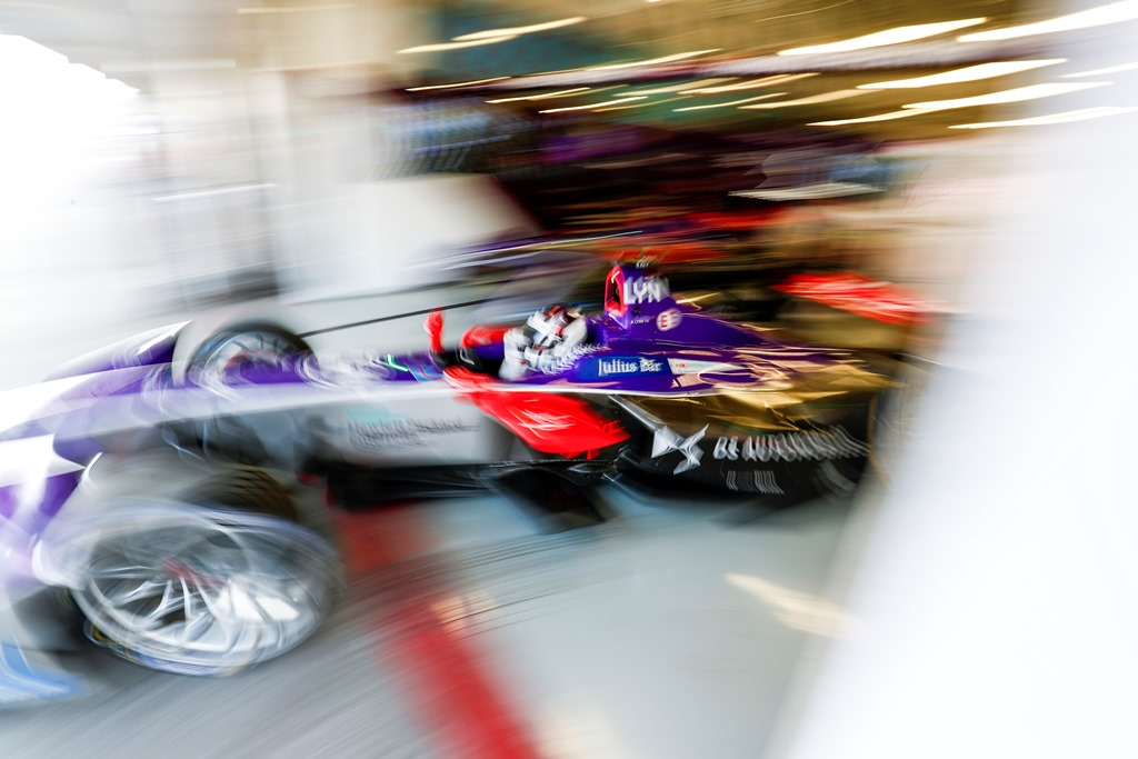 2017/2018 FIA Formula E Championship. Round 5 - Mexico City ePrix. Autodromo Hermanos Rodriguez, Mexico City, Mexico. Saturday 03 March 2018. Alex Lynn (GBR), DS Virgin Racing, DS Virgin DSV-03.  Photo: Sam Bloxham/LAT/Formula E ref: Digital Image _W6I2081