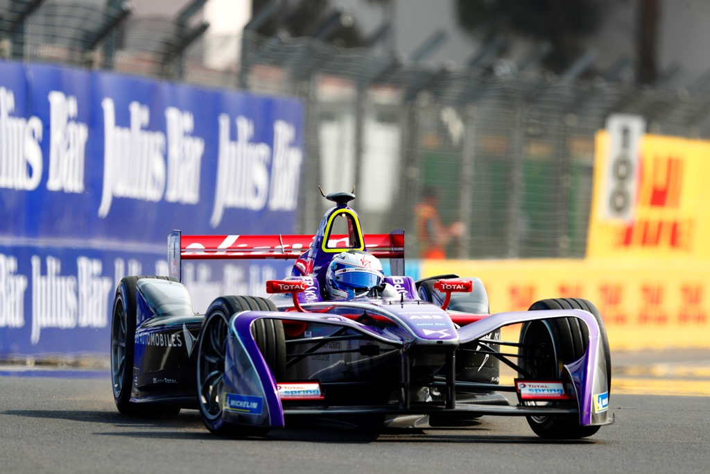 2017/2018 FIA Formula E Championship. Round 5 - Mexico City ePrix. Autodromo Hermanos Rodriguez, Mexico City, Mexico. Friday 02 March 2018. Sam Bird (GBR), DS Virgin Racing, DS Virgin DSV-03. Photo: Andrew Ferraro/LAT/Formula E ref: Digital Image _W6I0880