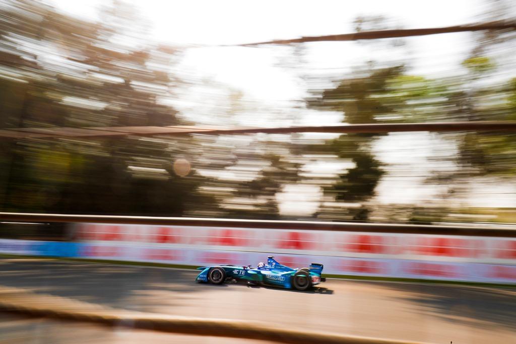 2017/2018 FIA Formula E Championship. Round 5 - Mexico City ePrix. Autodromo Hermanos Rodriguez, Mexico City, Mexico. Friday 02 March 2018. Tom Blomqvist (GBR), MS + AD Andretti Formula E, Andretti ATEC-03. Photo: Zak Mauger/LAT/Formula E ref: Digital Image _54I6894