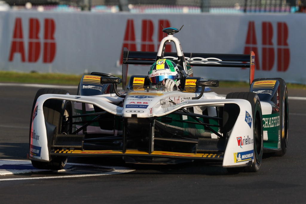 2017/2018 FIA Formula E Championship. Round 5 - Mexico City ePrix. Autodromo Hermanos Rodriguez, Mexico City, Mexico. Saturday 03 March 2018. Lucas Di Grassi (BRA), Audi Sport ABT Schaeffler, Audi e-tron FE04. Photo: Alastair Staley/LAT/Formula E ref: Digital Image _MGL3038
