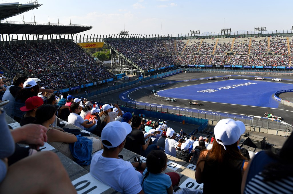 2017/2018 FIA Formula E Championship. Round 5 - Mexico City ePrix. Autodromo Hermanos Rodriguez, Mexico City, Mexico. Saturday 3 March 2018.  Photo: Sam Bagnall/LAT/Formula E ref: Digital Image DSC_5182
