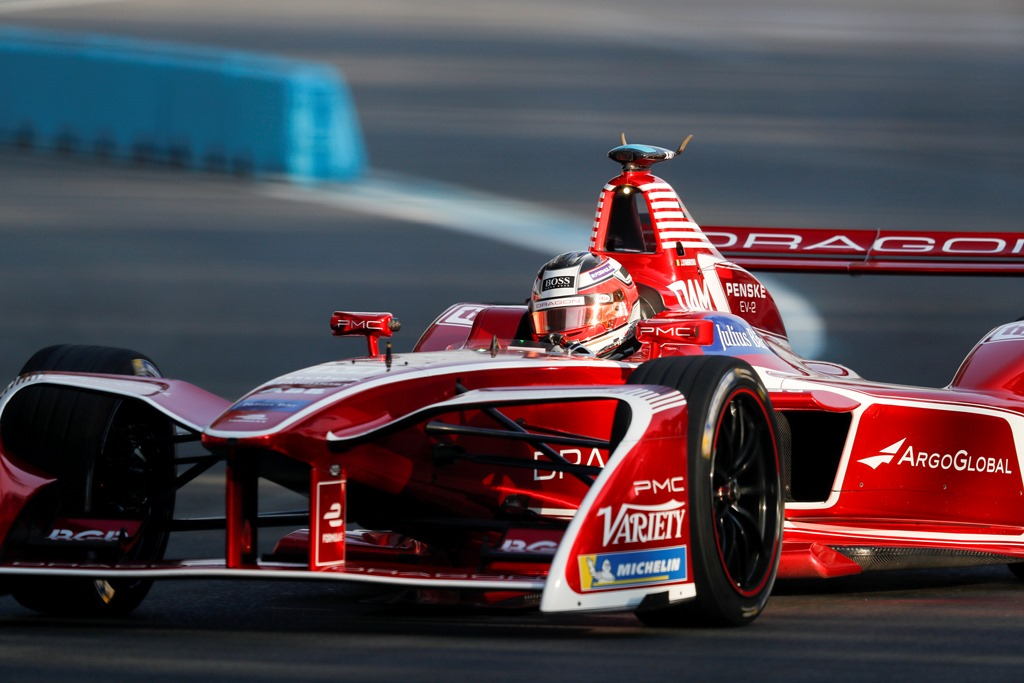 2017/2018 FIA Formula E Championship. Round 5 - Mexico City ePrix. Autodromo Hermanos Rodriguez, Mexico City, Mexico. Saturday 03 March 2018. Jérôme d'Ambrosio (BEL), Dragon Racing, Penske EV-2.  Photo: Alastair Staley/LAT/Formula E ref: Digital Image _MGL3048