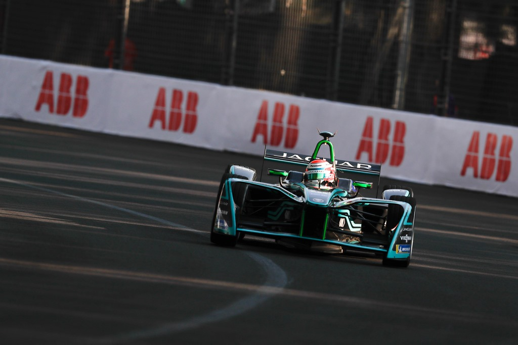 2017/2018 FIA Formula E Championship. Round 5 - Mexico City ePrix. Autodromo Hermanos Rodriguez, Mexico City, Mexico. Saturday 03 March 2018. Nelson Piquet Jr. (BRA), Panasonic Jaguar Racing, Jaguar I-Type II.  Photo: Alastair Staley/LAT/Formula E ref: Digital Image _MGL3782