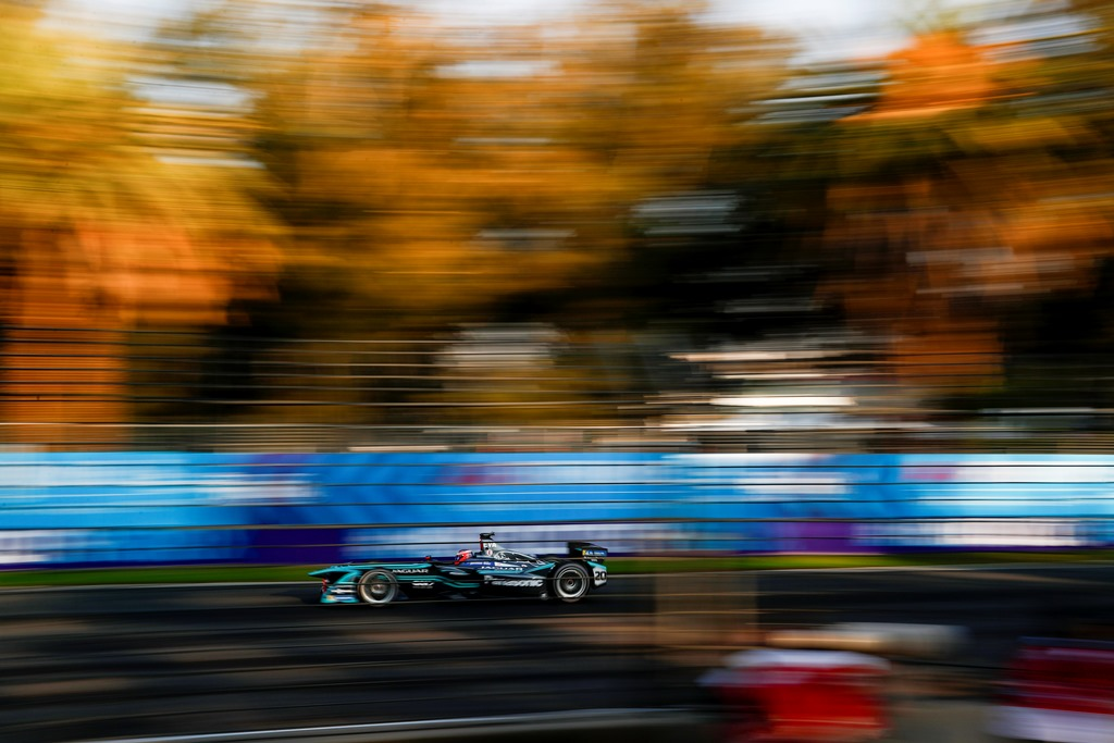 2017/2018 FIA Formula E Championship. Round 5 - Mexico City ePrix. Autodromo Hermanos Rodriguez, Mexico City, Mexico. Saturday 03 March 2018. Mitch Evans (NZL), Panasonic Jaguar Racing, Jaguar I-Type II.  Photo: Andrew Ferraro/LAT/Formula E ref: Digital Image _J6I0951