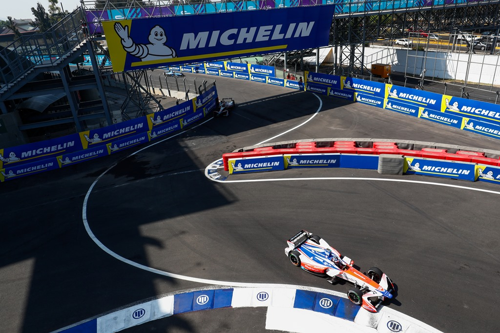 2017/2018 FIA Formula E Championship. Round 5 - Mexico City ePrix. Autodromo Hermanos Rodriguez, Mexico City, Mexico. Saturday 03 March 2018. Nick Heidfeld (GER), Mahindra Racing, Mahindra M4Electro.  Photo: Sam Bloxham/LAT/Formula E ref: Digital Image _W6I2343
