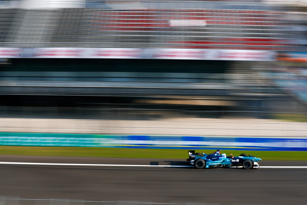 2017/2018 FIA Formula E Championship. Round 5 - Mexico City ePrix. Autodromo Hermanos Rodriguez, Mexico City, Mexico. Saturday 03 March 2018. Luca Filippi (ITA), NIO Formula E Team, NextEV NIO Sport 003.  Photo: Sam Bloxham/LAT/Formula E ref: Digital Image _W6I1923