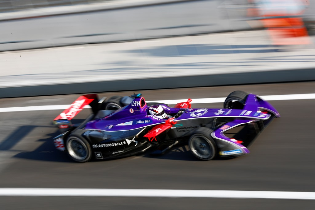 2017/2018 FIA Formula E Championship. Round 5 - Mexico City ePrix. Autodromo Hermanos Rodriguez, Mexico City, Mexico. Saturday 03 March 2018. Alex Lynn (GBR), DS Virgin Racing, DS Virgin DSV-03.  Photo: Sam Bloxham/LAT/Formula E ref: Digital Image _W6I1975