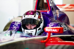 2017/2018 FIA Formula E Championship. Round 5 - Mexico City ePrix. Autodromo Hermanos Rodriguez, Mexico City, Mexico. Saturday 3 March 2018. Alex Lynn (GBR), DS Virgin Racing, DS Virgin DSV-03.  Photo: Sam Bloxham/LAT/Formula E ref: Digital Image _X0W0503