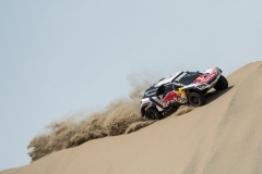Sebastien Loeb (FRA) of Team Peugeot Total races during stage 01 of Rally Dakar 2018 from Lima to Pisco, Peru on January 06, 2018