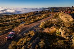 Sebastien Ogier (FRA) Julien Ingrassia (FRA) of team Citroen Total WRT is seen racing on day 2 during the World Rally Championship Argentina in Carlos Paz, Argentina on April 27, 2019 // Jaanus Ree/Red Bull Content Pool // AP-1Z5SPG6YS2511 // Usage for editorial use only // Please go to www.redbullcontentpool.com for further information. //