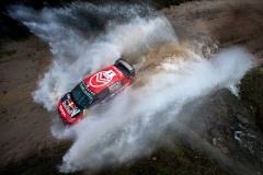 Sebastien Ogier (FRA) Julien Ingrassia (FRA) of team Citroen Total WRT is seen racing on day 1 during the World Rally Championship Argentina in Carlos Paz, Argentina on April 26, 2019 // Jaanus Ree/Red Bull Content Pool // AP-1Z5G2H3TH2511 // Usage for editorial use only // Please go to www.redbullcontentpool.com for further information. //