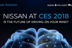 Nissan at CES 2018