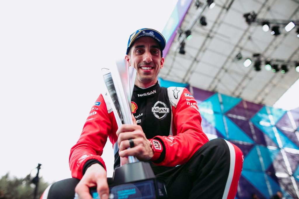 Nissan Formula E Driver Sebastien Buemi scores a podium in Mexico
