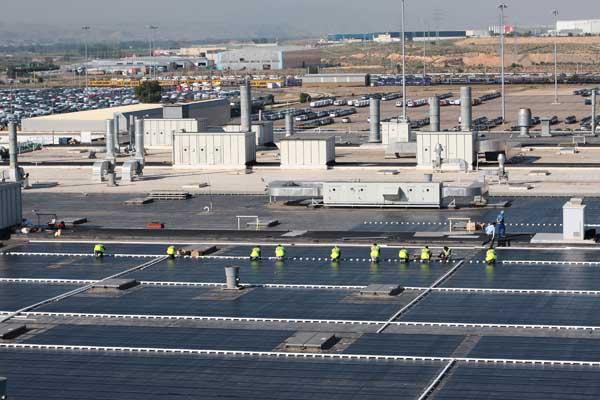 GM Zaragoza Plant in Spain