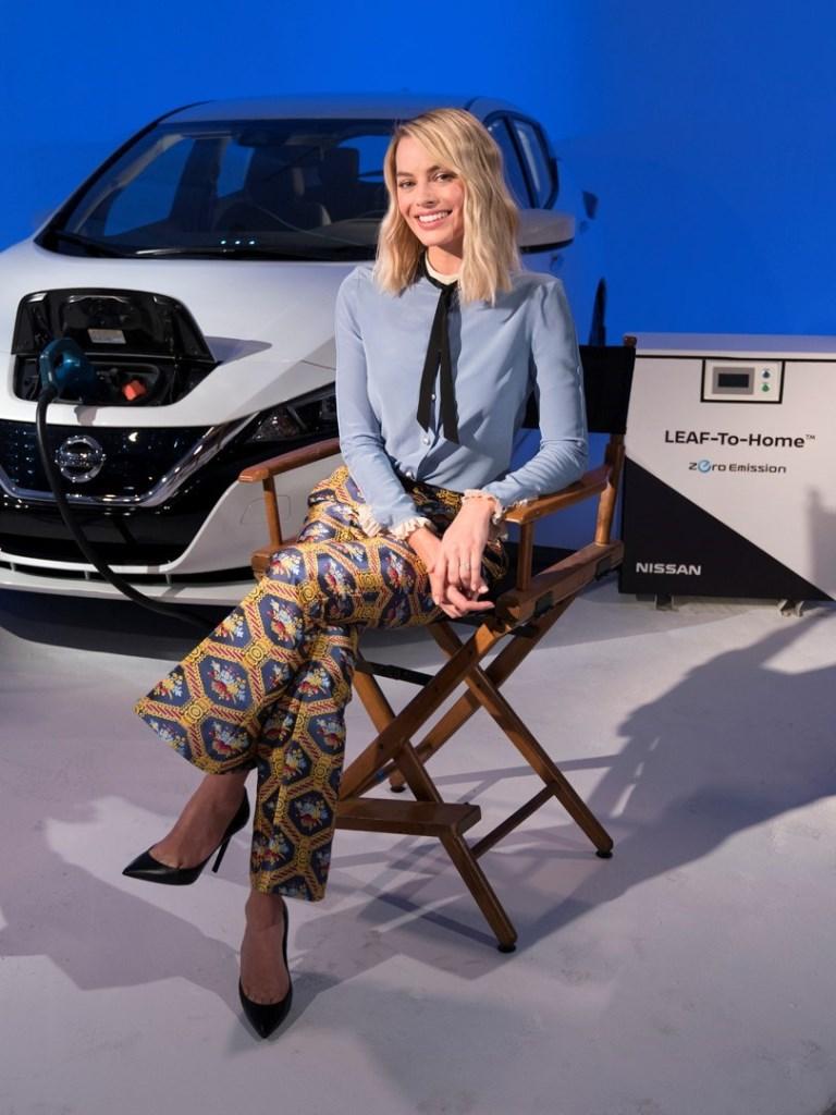 Nissan Electric Vehicle ambassador, Margot Robbie, confirms new Formula E concept livery to be revealed at Geneva Motor Show