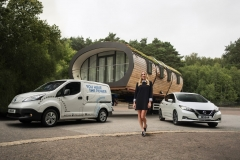 Margot Robbie takes the wheel for new Nissan sustainability projects at Nissan Futures 3.0