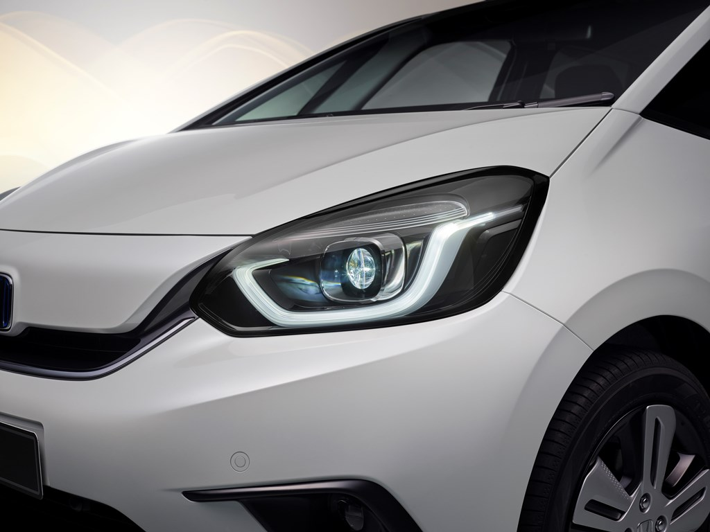 Honda Jazz Exterior Front Light Detail