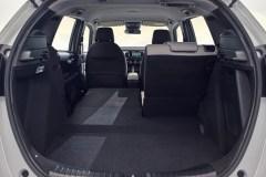 Honda Jazz Interior Rear Detail