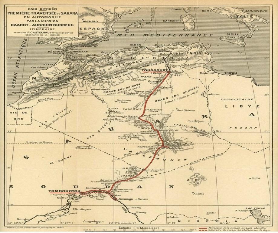 CITROEN_SCARABEE_D_OR_TRAVERSEE_SAHARA_CARTE_1922