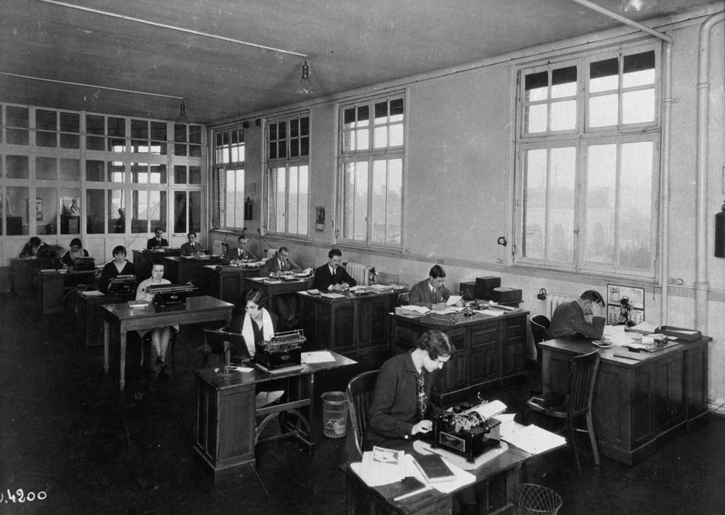 Bureaux a Javel - 35.389.4 -