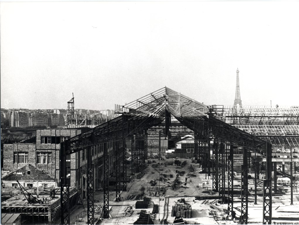 Construction nouvelle usine de Javel 1933 - 30.938 -