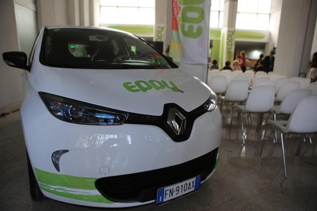 CS- DEBUTTA EPPY DA OGGI OPERATIVO A LATINA IL CAR SHARING 100% ELETTRICO
