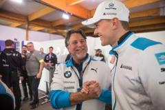 Diriyah (KSA), 21st-23rd November 2019. ABB FIA Formula E Championship, Season 6, BMW i Andretti Motorsport, BMW iFE.20, Maximilian Günther.