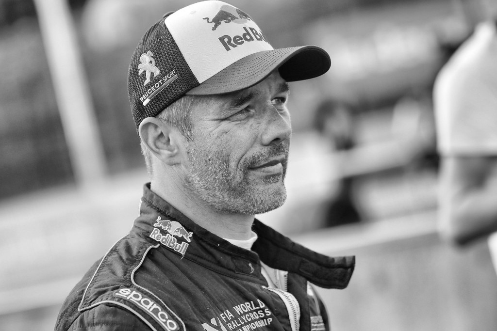 Sebastien Loeb performs at FIA World Rallycross Championship in Mettet, Belgium on 12 May 2018 // @World / Red Bull Content Pool // AP-1VMXYAX8S2111 // Usage for editorial use only // Please go to www.redbullcontentpool.com for further information. //