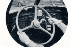 Cambio elettromagnetico Cotal su Peugeot 402 B Legere