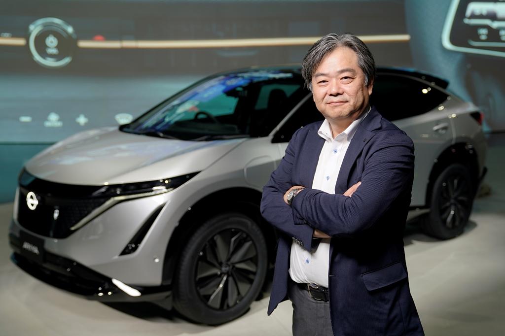 200710_Nissan-Ariya-World-Premiere_Spokesperson_Tetsuo-Sasaki_01