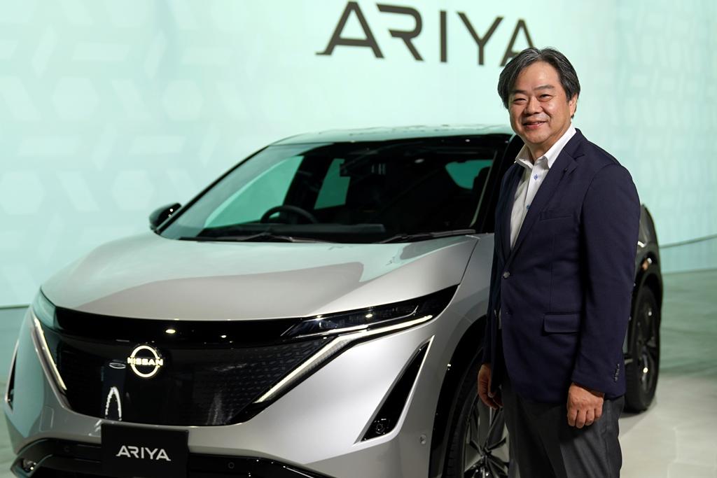 200710_Nissan-Ariya-World-Premiere_Spokesperson_Tetsuo-Sasaki_03