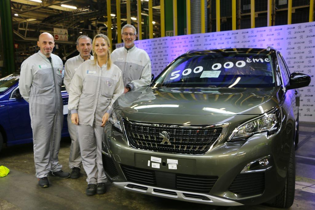 1 milione Peugeot 308 e mezzo milione Peugeot 3008 prodotte (3)