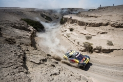 Sebastien Loeb (FRA) of PH Sport races during stage 07 of Rally Dakar 2019 from San Juan de Marcona to San Juan de Marcona, Peru on January 14, 2019 // Marcelo Maragni/Red Bull Content Pool // AP-1Y4JF2ZK91W11 // Usage for editorial use only // Please go to www.redbullcontentpool.com for further information. //