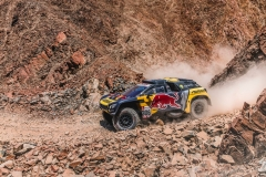 Sebastien Loeb (FRA) of PH Sport races during stage 7 of Rally Dakar 2019 from San Juan de Marcona to San Juan de Marcona , Peru on January 14, 2019. // Flavien Duhamel/Red Bull Content Pool // AP-1Y4MBDW2N2111 // Usage for editorial use only // Please go to www.redbullcontentpool.com for further information. //