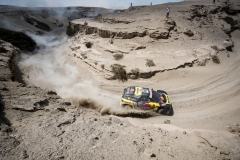 Sebastien Loeb (FRA) of PH Sport races during stage 07 of Rally Dakar 2019 from San Juan de Marcona to San Juan de Marcona, Peru on January 14, 2019 // Marcelo Maragni/Red Bull Content Pool // AP-1Y4JF8RZW1W11 // Usage for editorial use only // Please go to www.redbullcontentpool.com for further information. //